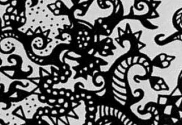 Upclose Zentangle